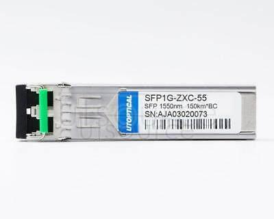 Brocade E1MG-LHB-OM Compatible SFP1G-ZXC-55 1550nm 150km DOM Transceiver