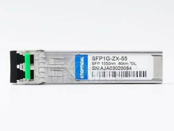 Dell 430-4586 Compatible SFP1G-ZX-55 1550nm 80km DOM Transceiver