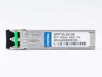 TRENDnet TEG-MGBS80 Compatible SFP1G-ZX-55 1550nm 80km DOM Transceiver