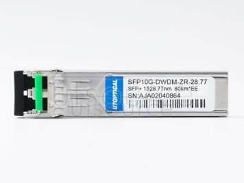 Extreme DWDM-SFP10G-28.77 Compatible SFP10G-DWDM-ZR-28.77 1528.77nm 80km DOM Transceiver