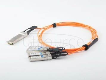 20m(65.62ft) Utoptical Compatible 40G QSFP+ to 4x10G SFP+ Active Optical Cable