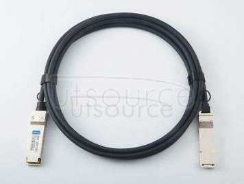 3m(9.84ft) Brocade 40G-QSFP-C-0301 Compatible 40G QSFP+ to QSFP+ Passive Direct Attach Copper Twinax Cable