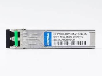 Netgear DWDM-SFP10G-56.55 Compatible SFP10G-DWDM-ZR-56.55 1556.55nm 80km DOM Transceiver