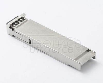 Generic DWDM-XFP10G-80 Compatible 1539.77nm 80km DOM Transceiver   Every transceiver is individually tested on corresponding equipment such as Cisco, Arista, Juniper, Dell, Brocade and other brands, passed the monitoring of Utoptical's intelligent quality control system.
