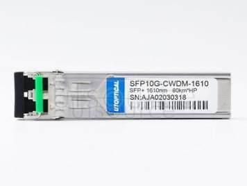 HPE CWDM-SFP10G-1610 Compatible SFP10G-CWDM-1610 1610nm 80km DOM Transceiver