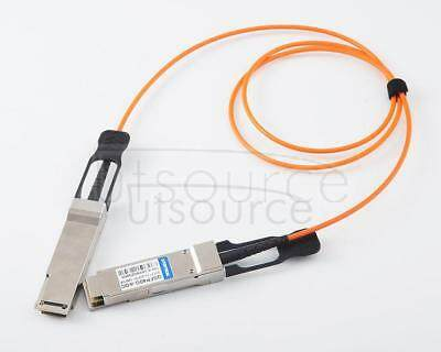 25m(82.02ft) Utoptical Compatible 40G QSFP+ to QSFP+ Active Optical Cable