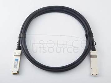 4m(13.12ft) Brocade 40G-QSFP-C-0401 Compatible 40G QSFP+ to QSFP+ Passive Direct Attach Copper Twinax Cable