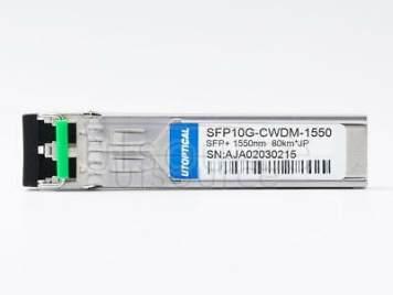 Juniper EX-SFP-10GE-CWZ55 Compatible SFP10G-CWDM-1550 1550nm 80km DOM Transceiver
