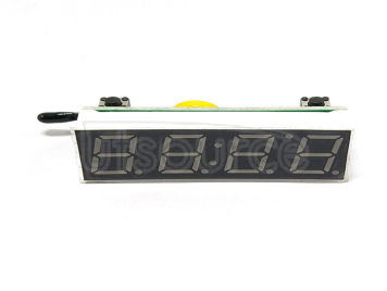 Time temperature voltage three-in-one LED digital clock RX8025T clock chip blue