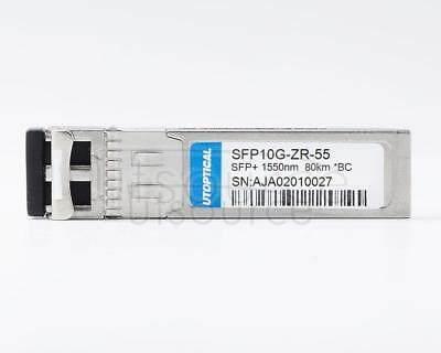 Brocade Compatible SFP10G-ZR-55 1550nm 80km DOM Transceiver