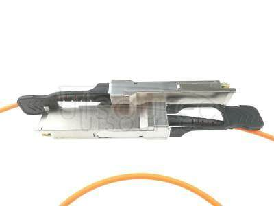 3m(9.84ft) H3C QSFP-40G-D-AOC-3M Compatible 40G QSFP+ to QSFP+ Active Optical Cable