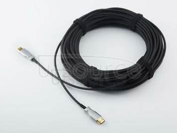 UTOPTICAL  HDMI Fiber Cable 50 feet Light High Speed Support 18.2 Gbps 4K at 60Hz HDMI 2.0 ,  Flexible With Optic Technology 15m