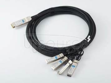 1m(3.28ft) Brocade 100G-Q28-S28-C-0101 Compatible 100G QSFP28 to 4x25G SFP28 Passive Direct Attach Copper Breakout Cable