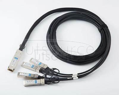 2m(6.56ft) Dell DAC-Q28-4SFP28-25G-2M Compatible 100G QSFP28 to 4x25G SFP28 Passive Direct Attach Copper Breakout Cable