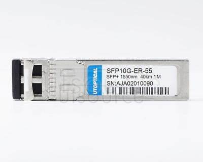 IBM BNT BN-CKM-SP-ER Compatible SFP10G-ER-55 1550nm 40km DOM Transceiver Every transceiver is individually tested on a full range of IBM equipment and passed the monitoring of Utoptical's intelligent quality control system.