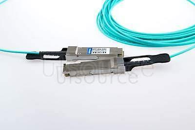 100m(328.08ft) Cisco QSFP-100G-AOC100M Compatible 100G QSFP28 to QSFP28 Active Optical Cable