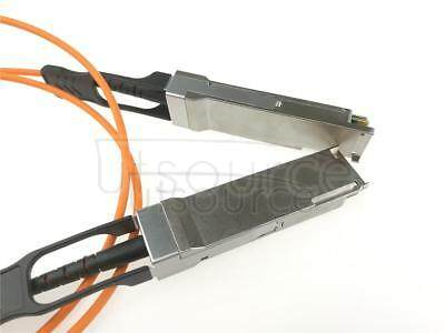 10m(32.81ft) Dell Force10 CBL-QSFP-40GE-10M Compatible 40G QSFP+ to QSFP+ Active Optical Cable