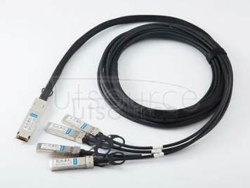3m(9.84ft) Huawei DAC-Q28-S28-3M Compatible 100G QSFP28 to 4x25G SFP28 Passive Direct Attach Copper Breakout Cable