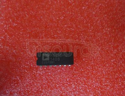 AD713AQ Quad Precision, Low Cost, High Speed, BiFET Op Amp