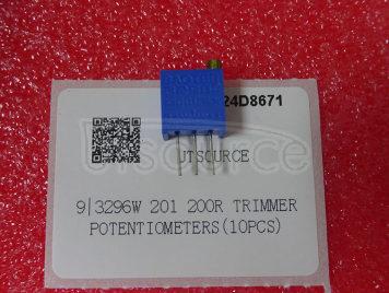 3296W 201 200R Trimmer Potentiometers(10pcs)