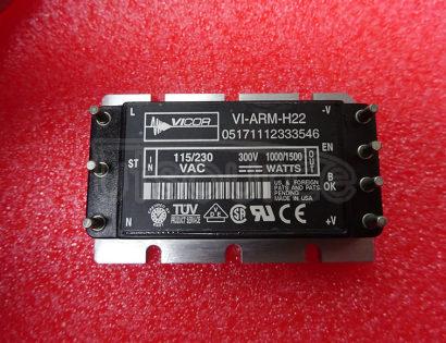 VI-ARM-H22 Autoranging Rectifier Modules Up to 1500 Watts