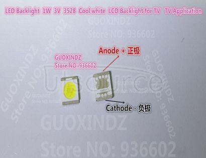 SEOUL High Power LED LED Backlight 1210 3528 2835 1W 100LM Cool white SBWRT120E LCD Backlight for TV TV Application   SBWRT120E