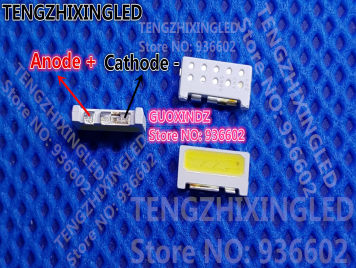 For SAMSUNG LED LCD Backlight TV Application LED Backlight Edge LED Series 2W 9V 7032 Cool white SVTE7032P3-GW