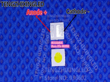 UNI LED Backlight TV DOUBLE CHIPS 1.5W 3537 3535 Cool white For LED LCD Backlight TV Application MSL-638AEGZW