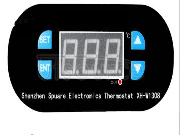 Xh-w1308 temperature controller digital display temperature controller switch refrigeration/heating control adjustable number