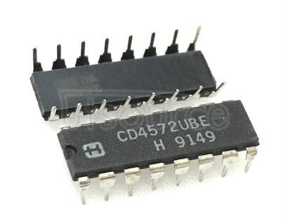 CD4572UBE IC HEX GATE 16-DIP