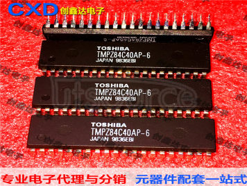 TMPZ84C40AP-6 TMPZ84C40AP TMPZ84C40AP-8 Integrated Circuit Microcontroller Chip IC