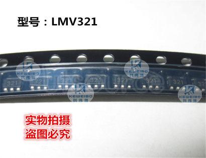 LMV321 Single Low-Voltage Rail-to-Rail Output Operational Amplifier