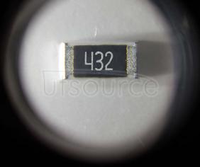 2512 Chip Resistor 5% 1W 4.3K