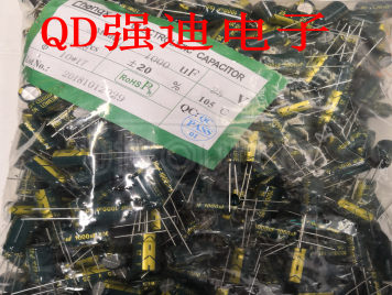 ELECTROLYTIC CAPACITOR 10X17 25V 1000UF GREEN GOLD HIGH FREQUENCY LOW RESISTANCE CHINA ORIGINAL