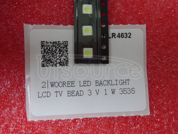 WOOREE LED backlight LCD TV bead 3 V 1 W 3535 LED SMD Lamp bead 3535 cold white WM35E1F-YR07-eB