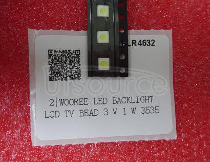 WOOREE LED backlight LCD TV bead 3 V 1 W 3535 LED SMD Lamp bead 3535 cold white WM35E1F-YR07-eB