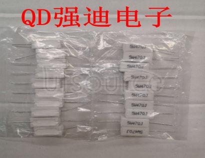 5W 47R Cement Resistance 47RJ 47 Ou 47R