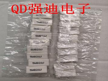 5W 82R Cement Resistance 82RJ 82 Ou 82R