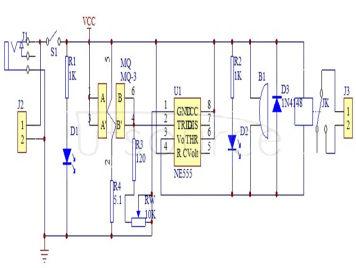 Alcohol tester kit mq-3 alcohol driving detector mq-3 module alcohol sensor DIY parts