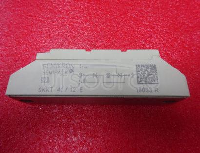 SKKT41-12E Thyristor / Diode Modules
