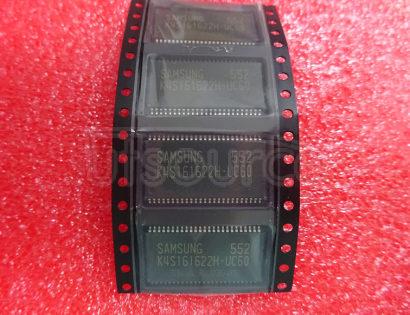 K4S161622H-UC60 512K x 16Bit x 2 Banks CMOS SDRAM, 166MHz, LVTTL, 50 TSOPII