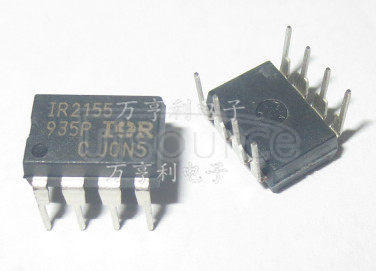 IR2155PBF Half Bridge Driver, LO In Phase with RT, Programmable Oscillating Frequency, 1.2us Deadtime in a 8-pin DIP package