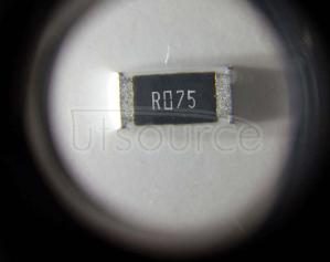 2512 Chip Resistor 0.075Ω(75mR) ±1% 1W