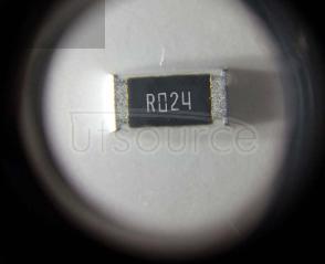 2512 Chip Resistor 0.024Ω(24mR) ±1% 1W