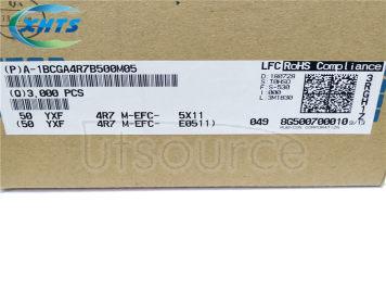 RUBYCON 50V4.7UF 5×11MM DIP Capacitors 50YXF4.7MEFC5X11