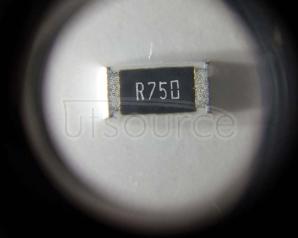 2010 Chip Resistor 0.75Ω(750mR) ±1% 3/4W