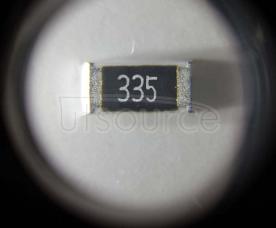 2010 Chip Resistor 3.3MΩ ±1% 3/4W