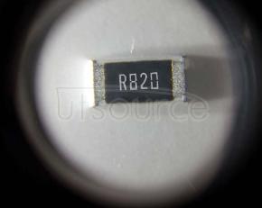 2010 Chip Resistor 0.82Ω(820mR) ±1% 3/4W