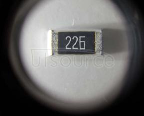 2010 Chip Resistor 22MΩ ±1% 3/4W