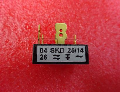 SKD25/14 Power   Bridge   Rectifiers